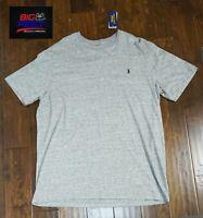 New Big & Tall Men's Polo Ralph Lauren Gray Pony Crewneck T Shirt Size LT TALL