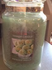 Yankee candle crunchy pistachio vanilla USA cookie swap limited edition