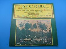 Americana Ruggles Ives Copland Mason Album LP Vinyl Buffalo Phil Foss TV-S 34398