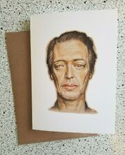 Steve Buscemi Blank Inside Any Holiday Funny Valentine's Birthday Greeting Card