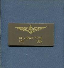 Astronaut NEIL ARMSTRONG US Navy F2H Banshee NASA Apollo Squadron Name Tag Patch