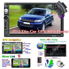 """Android 8.1 7"""" 2Din BT Coche GPS MP5 Reproductor Estéreo Radio FM + control del volante"""