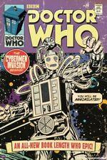 DOCTOR WHO ~ CYBERMEN INVASION ~ 24x36 COMIC ART POSTER DR TV BBC SMITH TENNANT