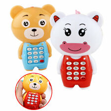 Kid Music Phone Toys Girl Toddler Light up Mobile Educational Toy Boy Cell Baby