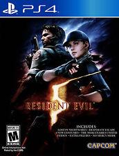 Juegos enmarcado impresión: Resident Evil 5 Playstation 4 edición (imagen Arte Cartel)