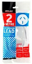2m Power Extension Cord/Lead/Cable Mains 240V/10A AMP 2400W AUSTRALIAN APPROVED