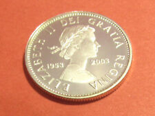 1953-2003 Canada 25 cents silver proof special edition