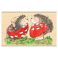 PENNY BLACK RUBBER STAMPS HEDGY TRUFFLES NEW wood STAMP