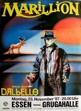 MARILLION - 1987 - Konzertplakat - Dabello - Clutching - Tourposter - Essen