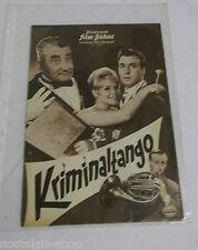 Illustrierte Film Bühne Kriminaltango Peter Alexander Filmheft