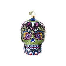 "Radko Drop Dead Gorgeous 6"" Day Of The Dead Ornament 1019055"