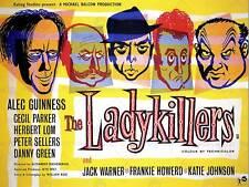 Película Ladykillers Crimen Comedia Guinness vendedores arte cartel impresión del Reino Unido Howerd CC6409