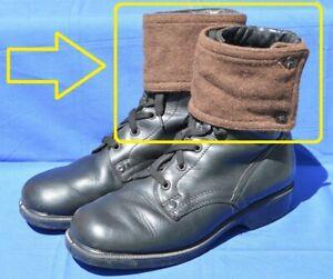 Bulgarian Communist Army Winter wool Uniform Spats Gaiters