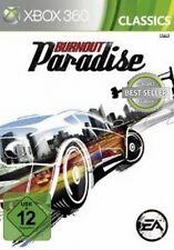 Xbox 360 Burnout Paradise alemán como nuevo
