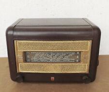 Old BF393A - Philips France Tube Radio Rundfunkempfänger Bakelite Sammlergerät