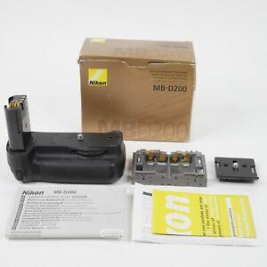 GENUINE Nikon MB-D200 Battery Grip for Nikon D200 Camera, Box w/ Markins PG-50
