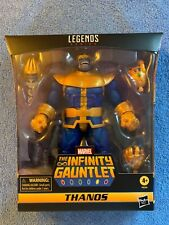 MOC 2021 HASBRO MARVEL LEGENDS AVENGERS DELUXE THE INFINITY GAUNTLET  THANOS