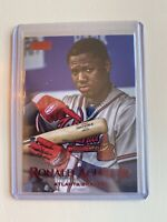 Ronald Acuna Jr - 2019 Topps Stadium Club Red Foil SP - BRAVES 📈🔥