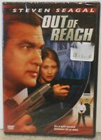 Out of Reach (DVD, 2004) RARE SEAGAL ACTION THRILLER BRAND NEW