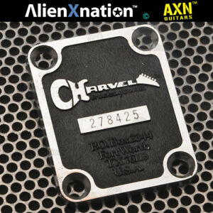 Charvel Neck Plate serial 278XXX makes it 1987 Vintage