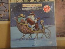A COUNTRY CHRISTMAS - SEALED LP AYL1-4812 PRIDE ALABAMA WILLIE NELSON WARINER