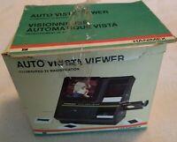 VTG HANIMEX AUTO VISTA ELECTRONIC SLIDE VIEWER WITH ORIIGNAL BOX AND MANUAL