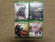 XBox One Call of Duty Ghosts Titanfall Call of Duty Advanced Warfare EA NHL 16