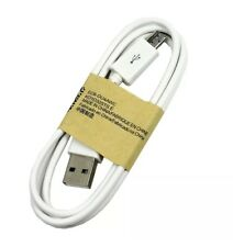 Lot 10-1000 White Micro USB Cable Charger Cord Samsung Galaxy S7 S6 S5 Wholesale