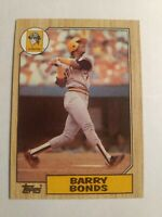 "1987 Topps (Barry Bonds) #320 *Rookie Card* ""Double Misprint"" Baseball Card"