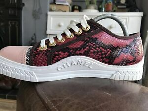 Chanel Womens Trainers/Sneakers Size UK6 In Excellent Condition