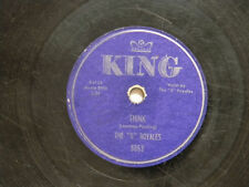 DOO WOP 78 The 5 Royales 78 THINK / I'D BETTER MAKE A MOVE ~ King VG- doo wop