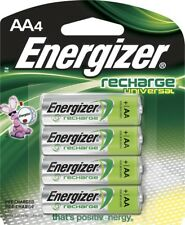 Energizer Rechargeable AA Batteries NiMH 2000 mAh Pre-charged 4 Count