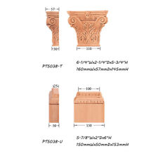 "Small Acanthus Capital with Base for 3-15/16""Wx1""D Pilaster Column"