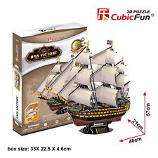 New HMS Victory ship 3D Model Jigsaw Puzzle 189 Pieces T4019H DIY Kids Toy