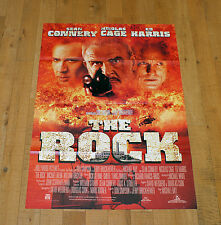 THE ROCK manifesto poster Sean Connery Ed Harris Nicolas Cage Alcatraz Bay Usa
