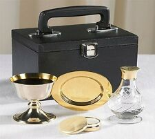 Travel Mass Kit, Communion Set + Chalice