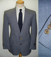 44R Mens MOD Preppy College~Barrington~ Gray Wool Blend MOD Dinner Blazer Jacket