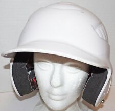 "Rawlings Coolflo - White Batting Baseball Helmet S/M Head 6.5"" - 7.5"" Used"