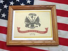 Framed American Military Flag, United States Army Flag, Infantry