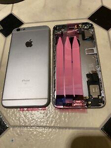 Gehäuse für iPhone 6S Plus  Akkudeckel Backcover Rahmen Spacegraue-Vormo