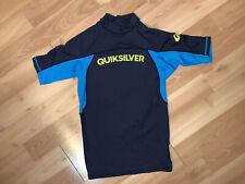 New Quiksilver Mens Blue Rashguard Swimwear Medium NWOT