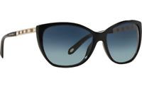 TIFFANY & CO . - sunglasses - TF4094B 80019S - ATLAS series -- Black / Grad Blue