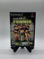 Outlaw Tennis PS2 Complete CIB Tested Sony PlayStation 2 Ps2 Game Good MTV Games
