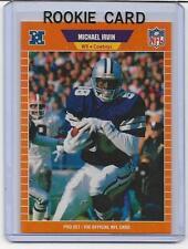 MICHAEL IRVIN 1989 PRO SET MINT RC ROOKIE CARD DALLAS COWBOYS