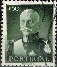 Portugal President Oscar Carmona old stamp 1934