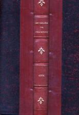 Les veillées des chaumières reliure 1er novembre 1905 au 31 octobre 1906