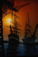 615097 Tall Ships At Anchor Portsmouth England A4 Photo Print