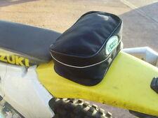 REAR fender bag MUDGUARD TOOL BAG TRIALS ENDURO tail bag CRF TY DT XT drz xr