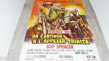 terence hill bud spencer ON CONTINUE A L' APPELER TRINITA affiche cinema western
