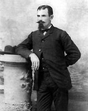1877 American Outlaw JESSE JAMES Vintage 8x10 Photo Old West Portrait Poster